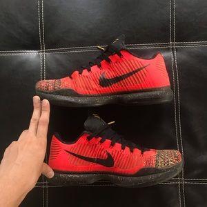 free shipping fa980 54772 Nike Shoes - Nike Kobe 10 elite Christmas basketball shoes